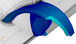 Training OpenFOAM Propeller Turbomachinery Example Meshing