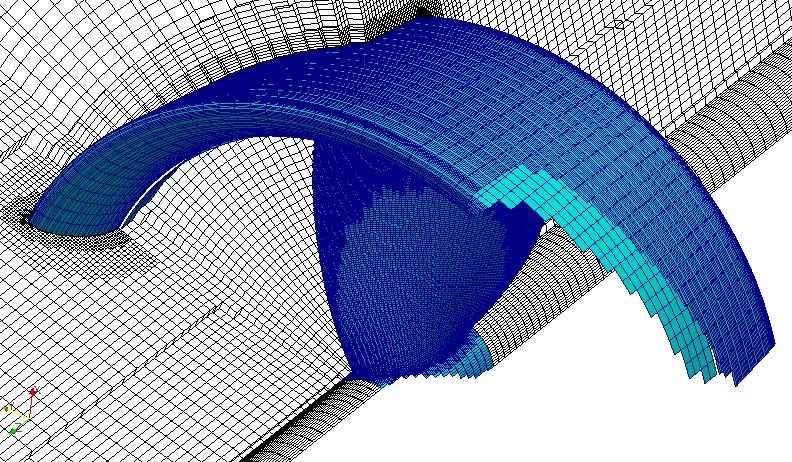 Schulung OpenFOAM Propeller Turbomaschinen Vernetzung